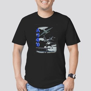 A380 Men's Fitted T-Shirt (dark)