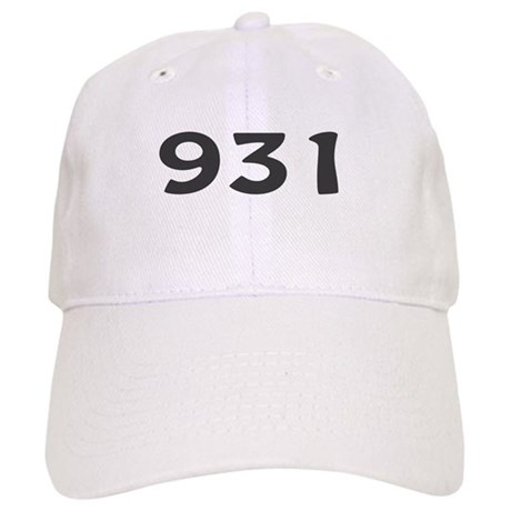 Area Code Baseball Cap By Amusingapparel - 931 area code