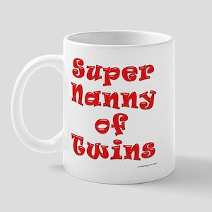 Super Nanny of Twins Mug
