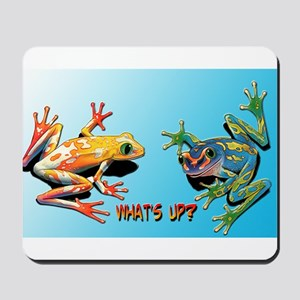 What's Up Frogs Mousepad