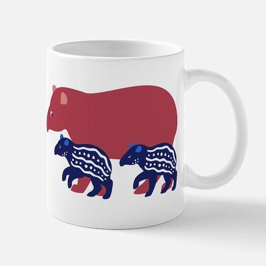 Tapir Family B Mug