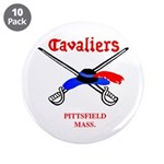 """Pittsfield Cavaliers 3.5"""" Button (10 pack)"""