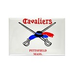 Pittsfield Cavaliers Rectangle Magnet (10 pack)
