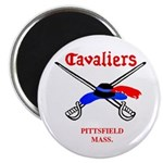 """Pittsfield Cavaliers 2.25"""" Magnet (100 pack)"""