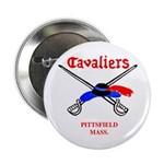 """Pittsfield Cavaliers 2.25"""" Button"""