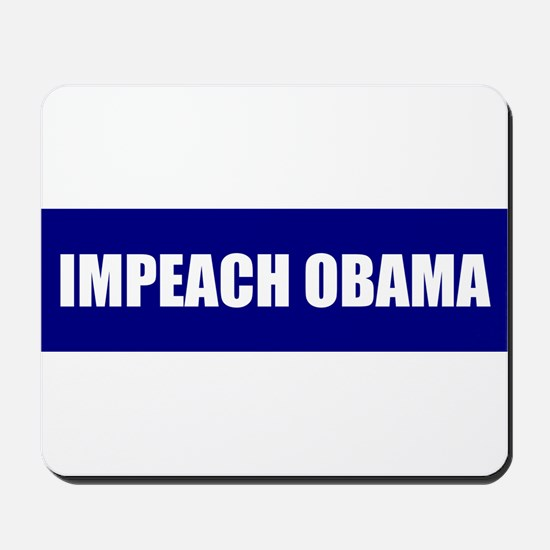 Impeach Obama Blue Mousepad