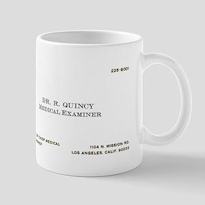 Doctor Quincy Mug