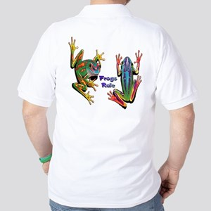 Frogs Rule Golf Shirt