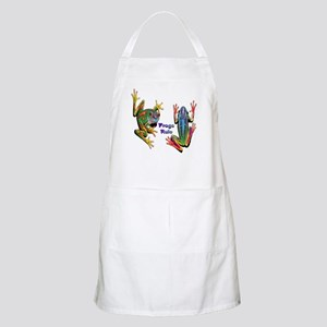 Frogs Rule BBQ Apron