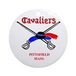 Pittsfield Cavaliers Ornament (Round)