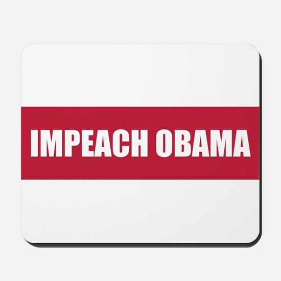 Impeach Obama Red Mousepad