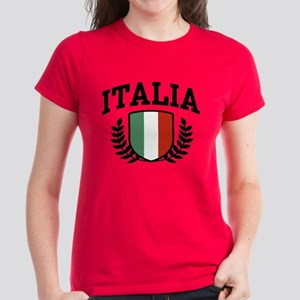 Italia Women's Dark T-Shirt
