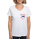 Pittsfield Cavaliers Women's V-Neck T-Shirt