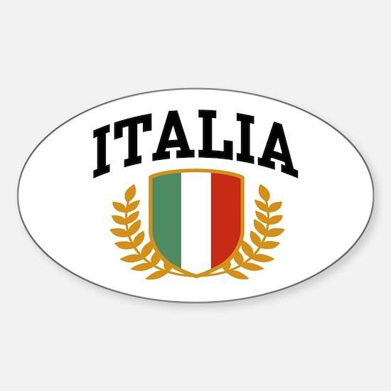 Italia Oval Decal