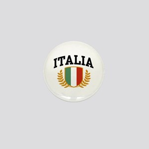 Italia Mini Button