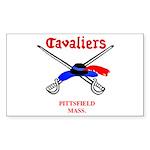 Pittsfield Cavaliers Rectangle Sticker
