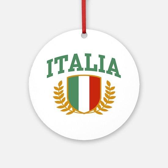 Italia Ornament (Round)