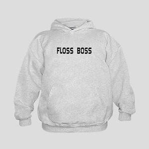 Dental Floss Boss Kids Hoodie