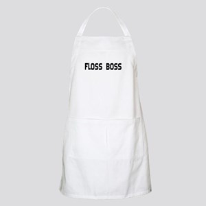 Dental Floss Boss BBQ Apron