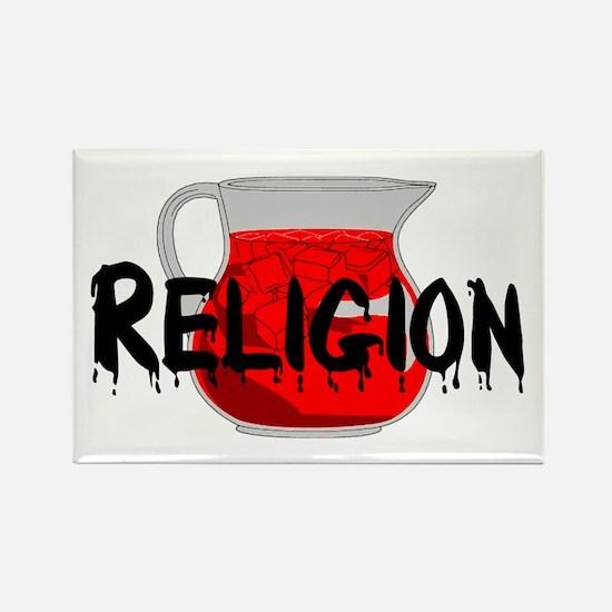 Brainwashing Drink Rectangle Magnet