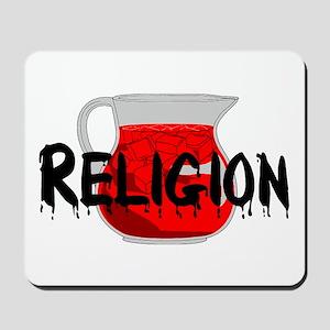 Religion Brainwashing Drink Mousepad