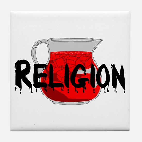 Brainwashing Drink Tile Coaster