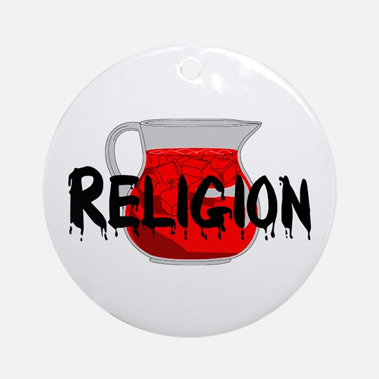 Brainwashing Drink Ornament (Round)