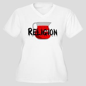 Brainwashing Drin Women's Plus Size V-Neck T-Shirt