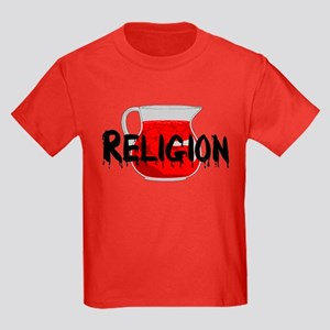 Brainwashing Drink Kids Dark T-Shirt
