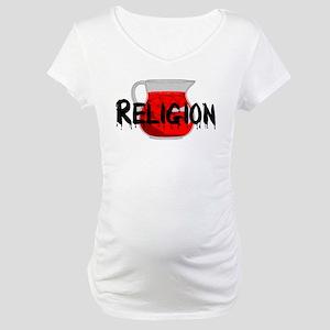 Brainwashing Drink Maternity T-Shirt