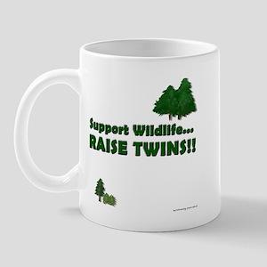 Support Wildlife - Twins Mug