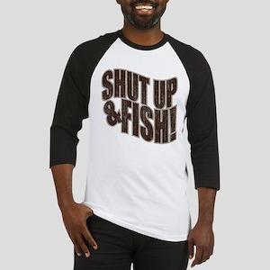 SHUT UP & FISH! Baseball Jersey