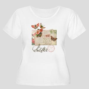 Sister Women's Plus Size Scoop Neck T-Shirt