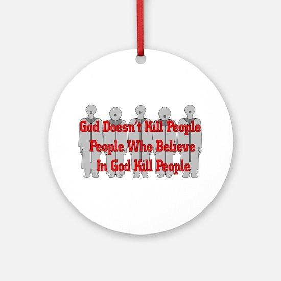 Religious Crazies Ornament (Round)