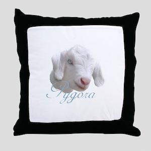 Pygora Goat Throw Pillow