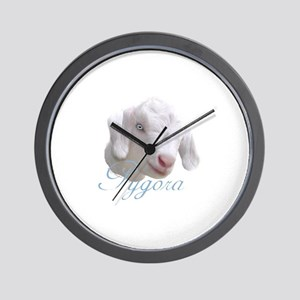 Pygora Goat Wall Clock