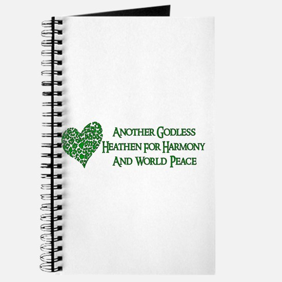 Godless For World Peace Journal