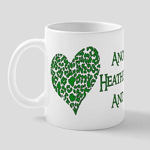 Godless Heathen For Peace 11 oz Ceramic Mug