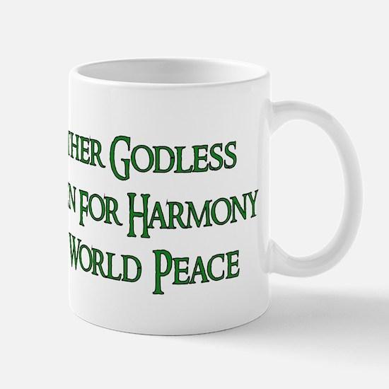 Godless For World Peace Mug