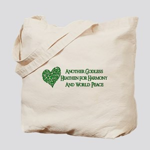Godless For World Peace Tote Bag
