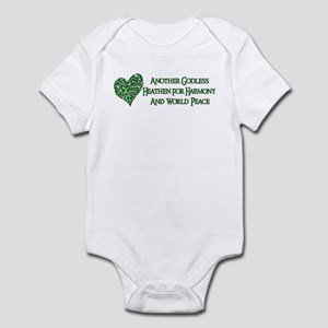 Godless For World Peace Infant Bodysuit
