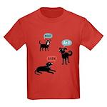 Woof Bark Arf Kids Dark T-Shirt
