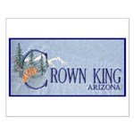 Crown King Small Poster