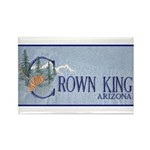 Crown King Rectangle Magnet (100 pack)