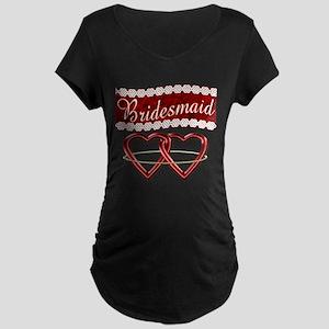 Bridesmaid Maternity Dark T-Shirt
