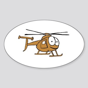 OH-6Tan Sticker