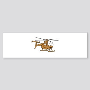 OH-6Tan Bumper Sticker