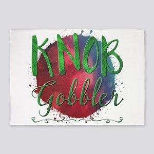 Knob Gobbler 5'x7'Area Rug