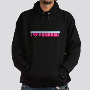 I Heart Fondant Hoodie (dark)