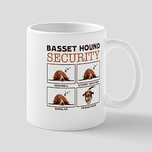 Basset Hound Shirt - Basset Hound Security Tee Mug